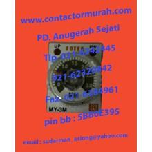tipe MY-3M-2P relay timer Fotek