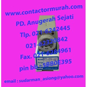 From Fotek type MY-3M-2P relay timer 7A 3