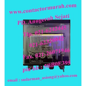 From Schneider RPM42BD power relay 15A 0