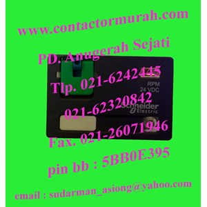 From power relay RPM42BD Schneider 15A 1