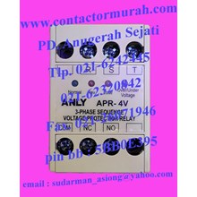 ANLY voltage protection relay tipe APR-4V