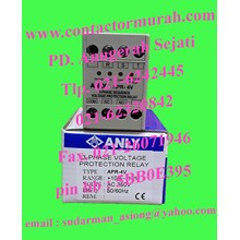 ANLY tipe APR-4V voltage protection relay 5A