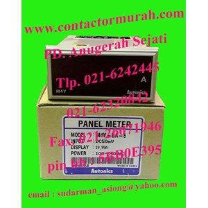 From type M4Y-DA-6 4VA panel meter Autonics 1