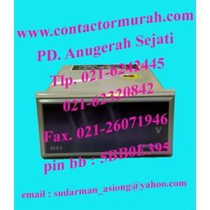 From type M4Y-DA-6 4VA panel meter Autonics 2