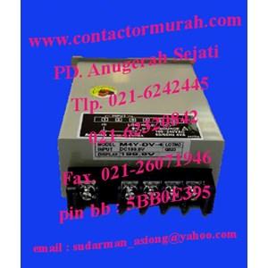 From type M4Y-DA-6 4VA panel meter Autonics 3