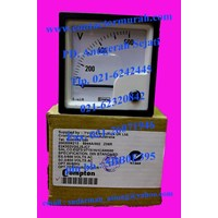 voltmeter tipe E24302VGSJSJC7 Crompton 600V 1