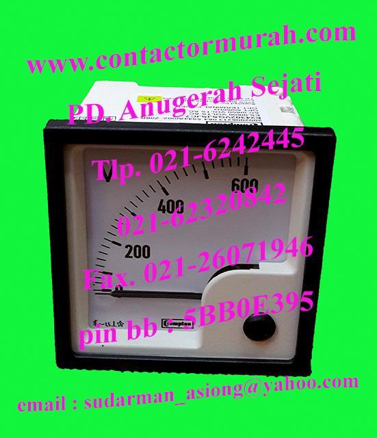 Jual Voltmeter Tipe E24302vgsjsjc7 600v Crompton Harga