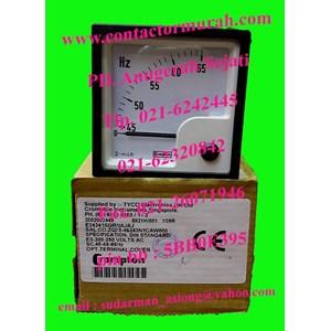 Hz meter tipe E24341SGRNAJAJ Crompton