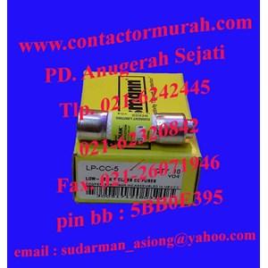 fuse Bussmann tipe LP-CC-5 600Vac