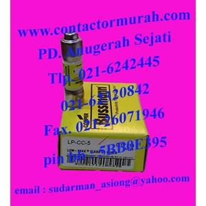 fuse tipe LP-CC-5 Bussmann 600Vac