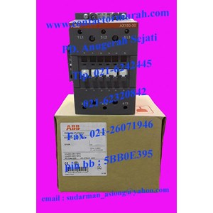 tipe AX150-30 ABB kontaktor magnetik