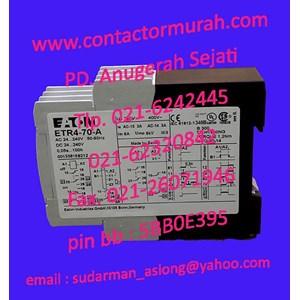 Eaton timer tipe ETR4-70-A 3A
