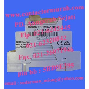 From timer theben type TR610 10A 0