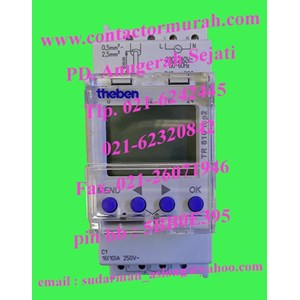 From timer theben type TR610 10A 1