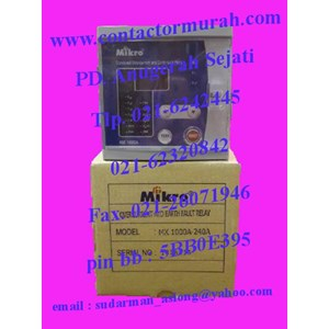 Dari Mikro overcurrent relay tipe MK 1000A 1