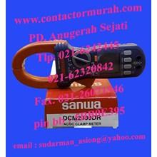 tipe DCM2000DR clamp meter sanwa