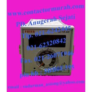 temperatur kontrol tipe TC72-AD-R4 220V fotek