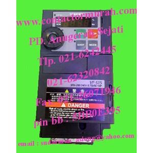 inverter tipe VFS-15 0.75kW toshiba