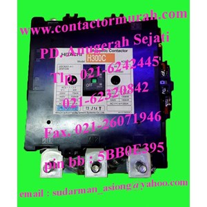hitachi kontaktor magnetik H300C 350A
