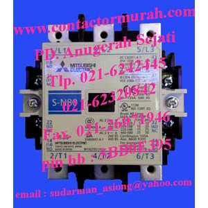 tipe S-N80 kontaktor magnetik mitsubishi