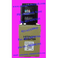 inverter tipe WJ200N-022HFC hitachi