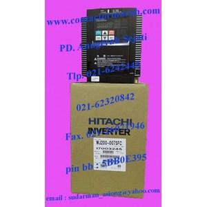 inverter tipe WJ200-007SFC 0.75kW hitachi