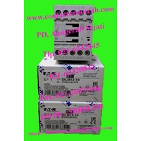 Beli tipe DILM 12-10 kontaktor magnetik eaton 12A 4