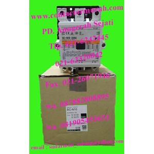 Dari fuji kontaktor magnetik tipe SC-N10 220A 3