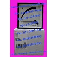 Distributor voltmeter tipe VC96 circutor 400V 3