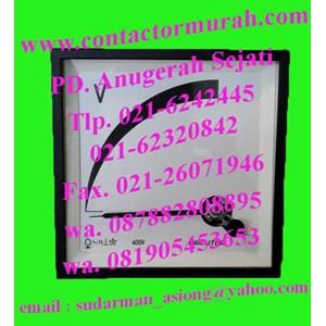 VC96 voltmeter circutor 400V