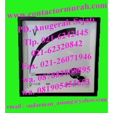 voltmeter tipe VC96 400V circutor