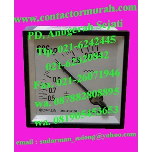 phase meter tipe FETC96 5A circutor