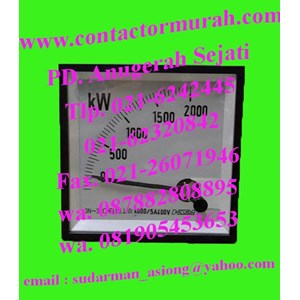 watt meter circutor WTC96AN