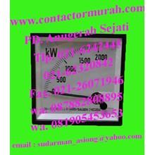 circutor watt meter tipe WTC96AN