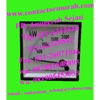 Distributor watt meter circutor tipe WTC96AN 5A 3