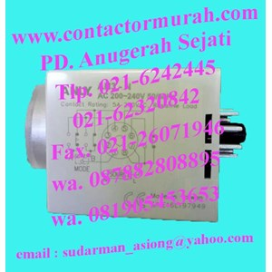 timer analog tipe AH3-NC anly 5A