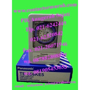 panasonic tipe TB 358KE5 time switch 20A