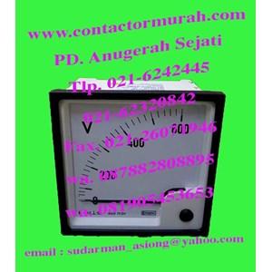 volt meter tipe E24402VGZBSFC7VR 110V crompton