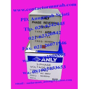 Anly tipe APR-3 voltage relay 10A