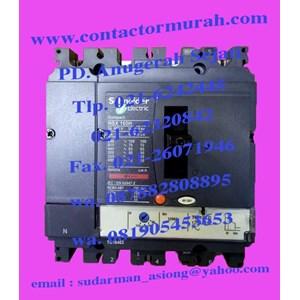 mccb tipe NSX-160H 125A schneider
