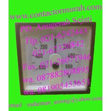 voltmeter crompton E24405CG 600VDC