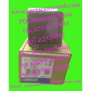 omron tipe E5CC-RX2ASM-800 temperatur kontrol 3A
