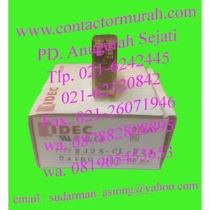 idec tipe RJ2S-CL-D24 relay 24VDC relay