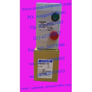 magnetic starter tipe HUEB-11K 380V TECO