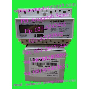 kwh meter thera 5A TEM021-D05F3