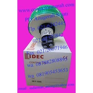 pilot lamp tipe HW1P-504G idec 24V