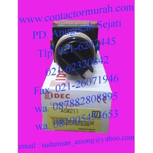 From idec 10A selector switch ASW211 3