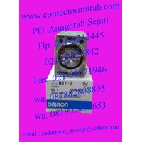 Jual timer omron 3A tipe H3Y-2 3A 2