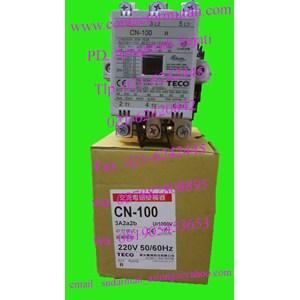 teco 130A tipe CN-100 kontaktor 130A