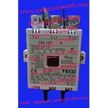 teco 150A tipe CN-125 kontaktor 150A